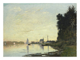 Argenteuil, Late Afternoon, 1872 Art by Claude Monet