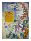 L'Equipe De Cardiff, 1912/1913 Giclee Print by Robert Delaunay