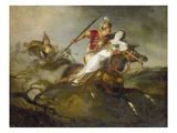 Prince Ladislaus at the Battle Near Cserhalom, 1826/30 Giclee Print by Karoly Kisfaludy