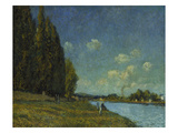Landscape at the Seine, 1879 Giclee Print by Alfred Sisley