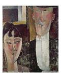 Bride and Groom (The Couple), 1915/16 Impression giclée par Amedeo Modigliani