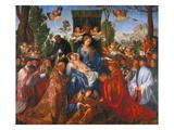 The Festival of the Rosary, 1506 Kunstdrucke von Albrecht Dürer