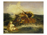 Fantaisie Arabe, 1833 Art by Eugène Delacroix