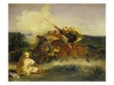 Fantaisie Arabe, 1833 Giclee Print by Eugène Delacroix