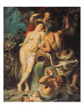 The Union of Earth and Water, about 1618 Posters by Peter Paul Rubens