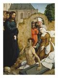 Die Auferweckung Des Lazarus Giclee Print by Johann von Flandern
