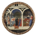 Childbed of a Florentine Woman. (Undated) Giclee Print by  Masaccio