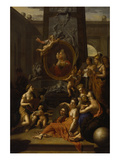 Homage to the Arts, 1706 Reproduction procédé giclée par Adriaan van der Werff