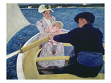 Bootspartie, um 1893/94 Poster by Mary Cassatt