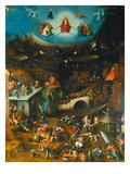 Last Judgement -Triptych. Centre Panel Giclee Print by Hieronymus Bosch