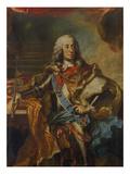 Kurfuerst Karl Albrecht V.Bayern, Als Karl Vii. Deutscher Kaiser (1742) Giclee Print by Georg Desmarées