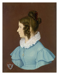 Josephine Suttner, Die Braut Des Kuenstlers Giclee Print by Wilhelm Von Kaulbach