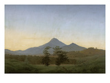 Bohemian Landscape, about 1808 Giclee Print by Caspar David Friedrich