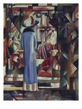 Grosses Helles Schaufenster, 1912 Print by Auguste Macke