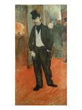 Gabriel Tapies De Celeyran Im Gang Eines Theaters, 1894 Prints by Henri de Toulouse-Lautrec