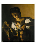 Judith with the Head of Holofernes, about 1615 Giclee Print by Carlo Saraceni