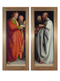 Four Apostles, 1526 Prints by Albrecht Dürer