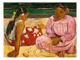 Frauen Von Tahiti (Oder: Am Strand).1891 Posters by Paul Gauguin