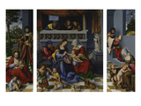 The Holy Kinship (So-Called Torgau Altarpiece), 1509 Giclee Print by Lucas Cranach the Elder