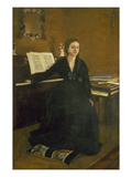 Madame Camus at the Piano, 1869 Giclee Print by Edgar Degas