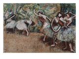 Ballet Scene, about 1907 Giclee Print by Edgar Degas