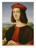 Bildnis des Pietro Bembo, um 1505/1506 Art by  Raphael