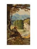 On the Tramp, around 1860 Giclée-Druck von Moritz Von Schwind