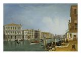 Canal Grande Bei Ca Pesaro Giclee Print by Michele Marieschi