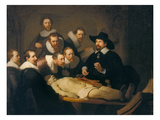 Rembrandt van Rijn - The Anatomy Lesson of Dr Nicolaes Tulp, 1632 - Giclee Baskı
