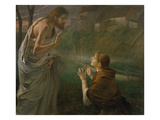 Noli Me Tangere Reproduction proc&#233;d&#233; gicl&#233;e par Fritz von Uhde