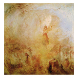 The Angel Standing in the Sun, 1846 Giclée-tryk af J. M. W. Turner