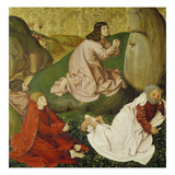 Passion Altar. Christ on the Mount of Olives, about 1470/80 Giclee Print by Rueland Frueauf