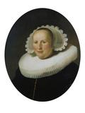 Portrait of Maertgen Van Bilderbeecq, 1633 Prints by  Rembrandt van Rijn