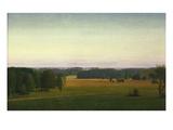 Landschaft Bei Muensing, 1931 Giclee Print by Georg Schrimpf
