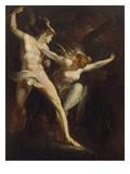Satan Und Tod, Von Der Suende Getrennt, 1792/1802 Giclee Print by Henry Fuseli