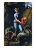 St. Margaret, about 1518 Poster von  Raphael