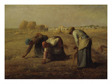 The Gleaners (Les Glaneuses), 1857 Poster by Jean-François Millet