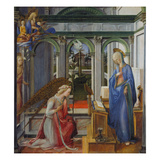 The Annunciation, about 1450 Giclée-Druck von Fra Filippo Lippi