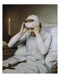 The Ecstatic Virgin Katharina Emmerick, 1885 Giclée-Druck von Gabriel Von Max
