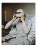 The Ecstatic Virgin Katharina Emmerick, 1885 Giclee Print by Gabriel Von Max