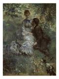 The Lovers, 1875 Affiches par Auguste Renoir