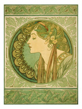 Laurel, 1921 Posters by Alphons Mucha