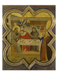 The Death of the Knight of Celano, about 1340 Giclee Print by Taddeo Gaddi