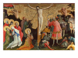 Berswold-Altar. Crucifixion Giclee Print by  Master of the Bersword-Altarpiece