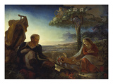 Rest on the Flight into Egypt, 1805/06 Posters by Philipp Otto Runge