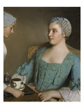 The Breakfast, 1753/56 Giclee Print by Jean-Etienne Liotard