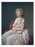Marquise De Sorcy De Thelusson, 1790 Poster by Jacques-Louis David