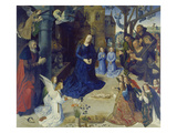 The Portinari Altarpiece. Central Panel: the Adoration of the Shepherds Prints by Hugo van der Goes