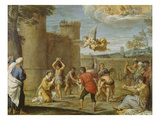 The Martyrdom of St. Stephen Prints by Annibale Carracci