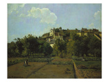 Pontoise, about 1867 Prints by Camille Pissarro